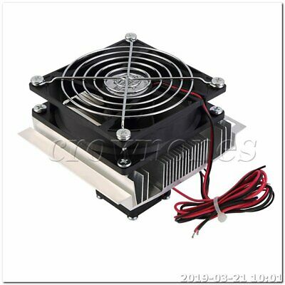 Thermoelectric Peltier Refrigeration Cooling Cooler Fan System