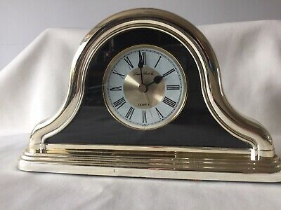 London Clock Company Napoleon Hat Style Quartz Mantel Clock - Working
