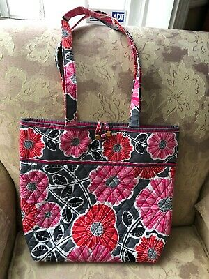 8f82708c6f NEW VERA BRADLEY CHEERY BLOSSOM Tote Bag with Toggle -  13.06