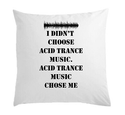 OLD SCHOOL DJ Cushion Cover Analogue With Synthesiser Techno House