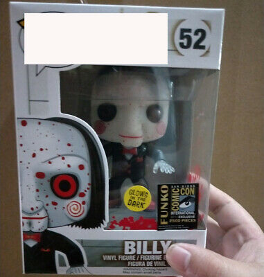 Luminous version of FUNKO POP chainsaw shock SAW BILLY model ornaments