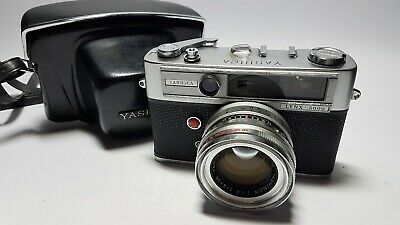 Yashica Lynx 5000 45mm f1.8 35mm Rangefinder Camera with Case (**READ**)