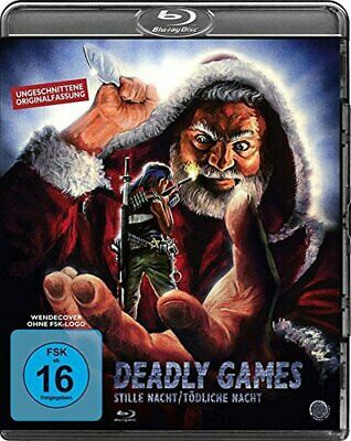 DEADLY GAMES (1989) Horror IMPORT Blu-Ray BRAND NEW Free Ship