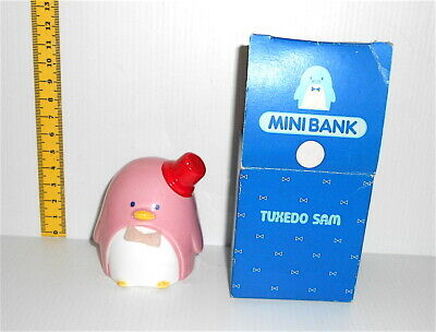 TUXEDOSAM 1979 Sanrio Japan pottery bank loose salvadanaio ceramica LEGGI DENTRO