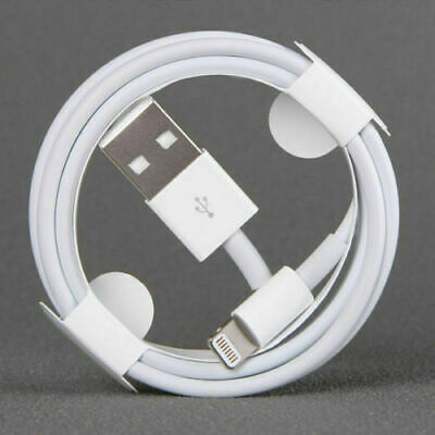 New Apple Lightning Cable USB without box iPhone X X max 8 7 6S  1/2M 3/6FT