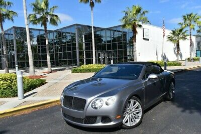 2014 Bentley Continental GT CONTINENTAL GTC SPEED W12 CLEAN CARFAX LOADED!!!!! 2014 Bentley Continental GT Speed CONTINENTAL GTC SPEED W12 CLEAN CARFAX LOADED!