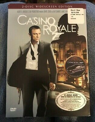 Casino Royale James Bond 007 2 Dvds Widescreen Daniel Craig New Sealed Nice