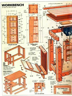 Carpentry Woodworkers 5 Dvd Make It Build Storage Cabinet Blueprints Pdfs Puzzle