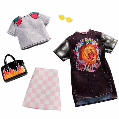 Barbie Pack 2 Looks Rock and Rose