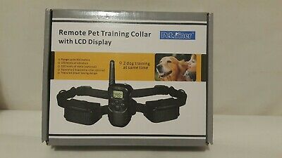 Petrainer Dog Training Shock Collar With Remote Control Vibrate Bark Collar
