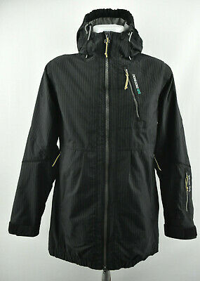 DIDRIKSONS WOMENS PARKA Jacket Storm System Dry 2 Hooded