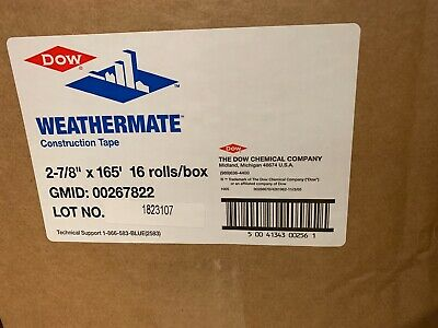 Business & Industrial Dow Weathermate Construction Tape 267819 1-7/8 X 55 yards