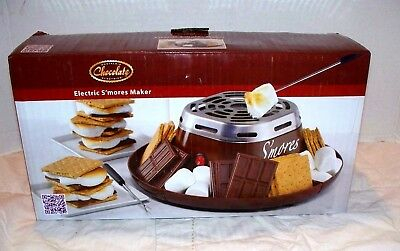 Nostalgia Chocolate Electric Smores Maker New Other
