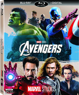 NEW! Marvel's The Avengers [Blu-ray,DIGITAL CODE]  Robert Downey Jr,Chris Evans