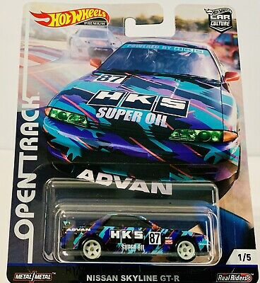 2019 Hot Wheels Car Culture Open Track Nissan Skyline GT-R