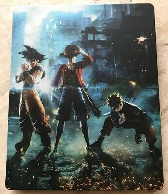 JUMP FORCE COLLECTOR'S EDITION PS4 Xbox One Steelbook- NO GAME -