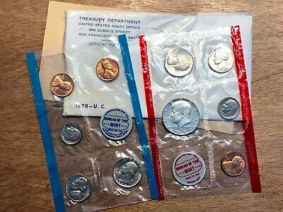 1970 U.S. Uncirculated Set (w/ 1970-D Half Dollar) a