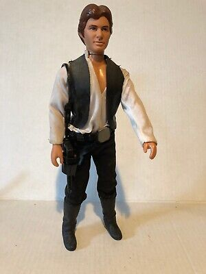 1978 Vintage 12 inch Star Wars Action Figure Han Solo w/ Accessories RARE Kenner