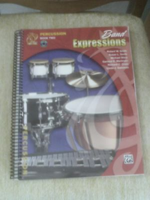 Band Expressions for Percussion Book 2  with CD by Alfred Publishing