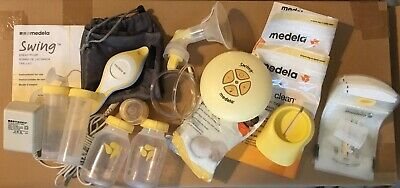 Genuine Medela Swing Pump with Accessories Plz Read Free Shipping