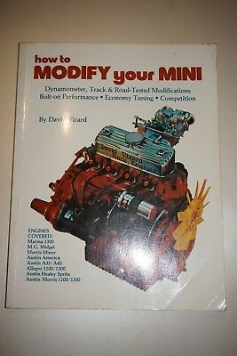 How to Modify Your Mini by David Vizard rare book