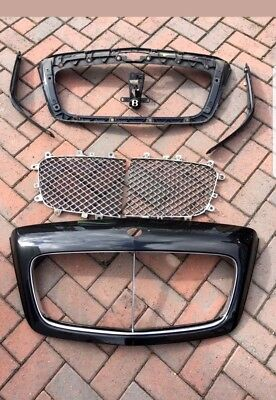 Bentley Continental Gt & Flying Spur Chrome Radiator Grill 04 - 08