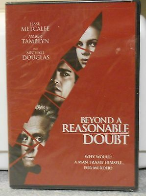 Beyond a Reasonable Doubt (DVD, 2009)  RARE MICHAEL DOUGLAS CRIME MYSTERY NEW