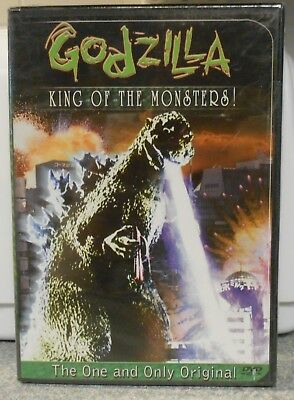 Godzilla, King of the Monsters (DVD, 2001) RARE 1956 SCI FI ACTION BRAND NEW