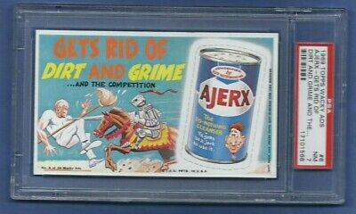 Wacky Packages Ads 1969 # 6 Ajerx Psa 7 Nm High End...8?