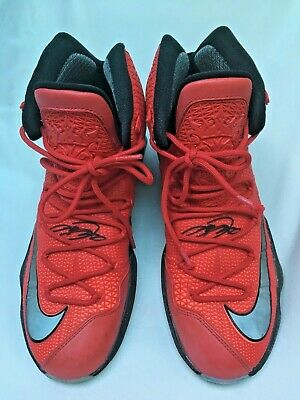 wholesale dealer 3200a 68f63 Men s Nike Lebron James XIII 13 Elite 831923-606 University Red Black Size 9