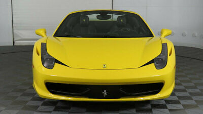 2015 Ferrari 458 Spider  2015 458 Italia, Giallo Modena over Nero, Black Wheels, Low Miles, Stunning!!!