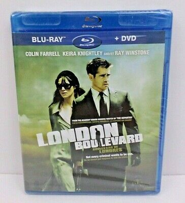 London Boulevard (BluRay + DVD, 2010) Bilingual Canadian Version NEW SEALED