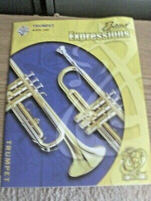 Band Expressions for Trumpet Book 1 with CD by Alfred Publishing