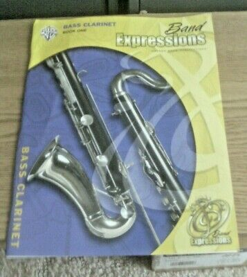 Band Expressions for Bass Clarinet Book 1 with CD by Alfred Publishing