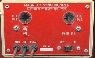 MAGNETO SYNCHRONIZER MODEL E5O by EASTERN ELECTRIC