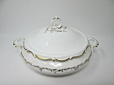 *Royal Doulton RICHELIEU Round Covered Vegetable Bowl  England H4957 Mint Cond.