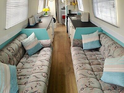 70 foot narrowboat live aboard or holiday light modern airy canal boat houseboat
