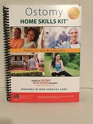 Ostomy Home Skills Kit With Checkist And DVD Free Shipping