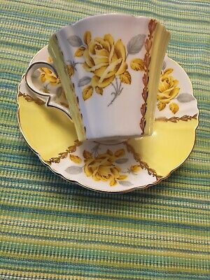Vintage Royal Standard Margaret Rose Teacup England Yellow