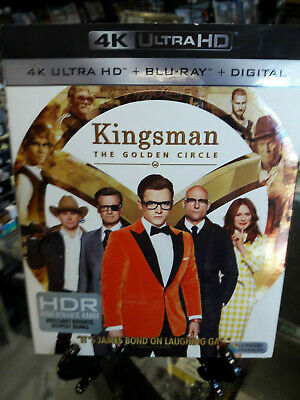 Kingsman: The Golden Circle 4K Ultra HD/Blu-Ray USED with SLIPCOVER NO DIGITAL