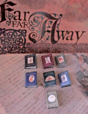 Beatrix Potter handcrafted mini dollhouse fairy book 1:12 Your choice of 7