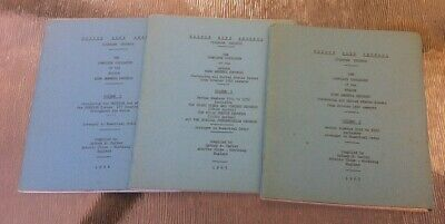 First edition 1963/4 Edison Blue Amberol Records Catalogue S Carter ( phonograph