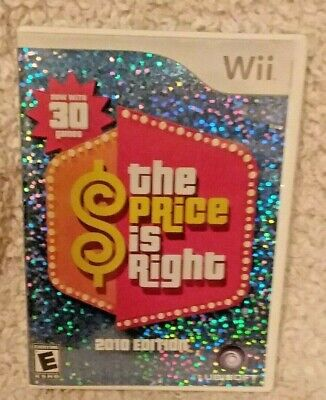 The Price Is Right~ 2010 Edition Wii Game