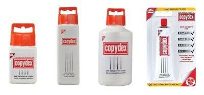 Copydex Glue Adhesive Natural Rubber Latex Craft Glue - 50 125 250 & 500ml