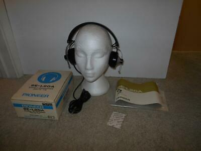 Rare New Vintage Pioneer Se-L20A Open Air Stereo Headphones In Box Japan