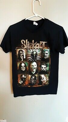 Slipknot Summers Last stand Tour 2015 Concert T Shirt  size Small