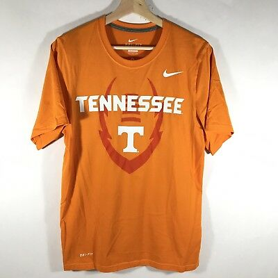 a2b619267 Nike Dri Fit Tennessee Volunteers VOLS Men's Small S T-Shirt Orange EUC