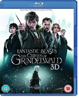 Fantastic Beasts THE CRIMES OF GRINDELWALD (2018) 3D + 2D Blu-Ray BRAND NEW