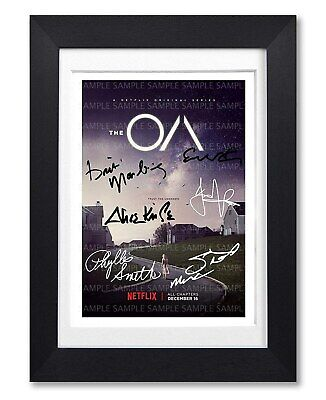 The Oa Cast Signed Poster Print Tv Show Series Season Photo Autograph Gift
