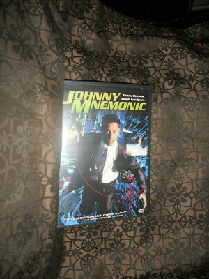 Johnny Mnemonic (DVD, 1997) Brand New Sealed Keanu Reeves Sci-Fi Cult
